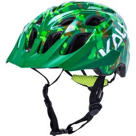 Kali Chakra Pixel Helm Kinderen, green